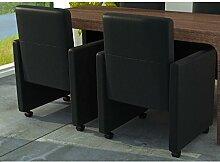 vidaXL NEU 2 Cocktailsessel Sessel Stuhlgruppe Sitzgruppe Esszimmerstühle Stühle Stuhl