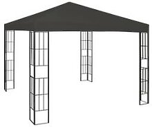 vidaXL Pavillon 3×3 m Anthrazit