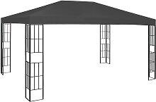 vidaXL Pavillon 3×4 m Anthrazit