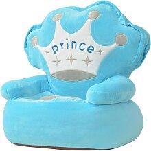 vidaXL Plüsch-Kindersessel Prinz Blau