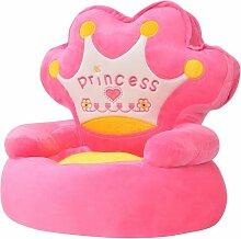 Vidaxl - Plüsch-Kindersessel Prinzessin Rosa
