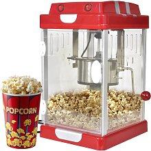 vidaXL Popcornmaschine Kino-Style 2,5 OZ