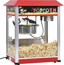vidaXL Popcornmaschine mit Teflon-Kochtopf 1400 W