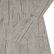 vidaXL PVC Laminat Dielen Selbstklebend Vinylboden