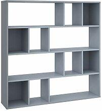 vidaXL Raumteiler Bücherregal 12 Fächer