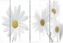 Vidaxl - Raumteiler Klappbar 240x170cm Blume