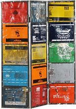 Vidaxl - Raumteiler Mehrfarbig 45x17x167 cm Eisen