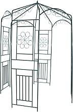 vidaXL Rosenpavillon 250 cm Dunkelgrün