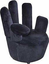 vidaXL Samtsessel Fingersessel Relaxsessel Sofa