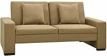vidaXL Schlafsofa Sofa Couch Sofabett Schlafcouch