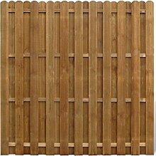 vidaXL Sichtschutzzaun Element Gartenzaun aus Holz