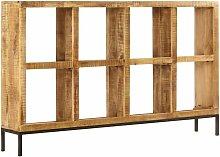 Vidaxl - Sideboard 160 x 25 x 95 cm Mangoholz