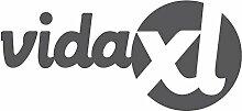 vidaXL Sitz-Kommode Sitzbank Truhenbank Schubladenschrank 2 Schublade + 2 Körben