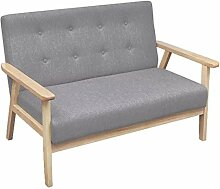 vidaXL Sofa 2 Sitzer Polstermöbel Polstersofa
