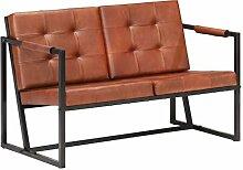vidaXL Sofa 2-Sitzer Zweisitzer Sessel Loungesofa