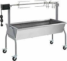 vidaXL Spanferkelgrill Lammgrill BBQ Barbecue