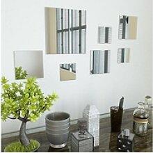 vidaXL Spiegel vidaXL 7-teiliges Wandspiegelset