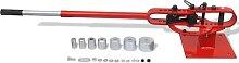 vidaXL Stahlrohrbiegemaschine Werkbank-Montage