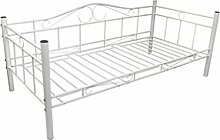 vidaXL Tagesbett 90x200 cm Einzelbett Bettgestell