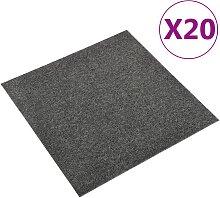 vidaXL Teppichfliesen 20 Stk. 5 m² 50x50 cm