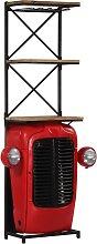 vidaXL Traktor-Weinschrank 49 x 32 x 183 cm