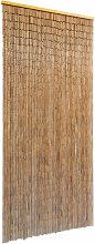 vidaXL Türvorhang Bambus 90x200 cm