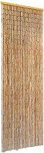 vidaXL Türvorhang Insektenschutz Bambus
