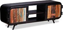 vidaXL TV-Schrank Altholz 120x30x45 cm