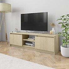 vidaXL TV-Schrank Sonoma-Eiche 120×30×35,5 cm