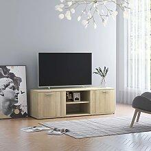vidaXL TV-Schrank Sonoma-Eiche 120 x 34 x 37 cm