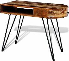 vidaXL Vintage Schreibtisch Holz recycelt