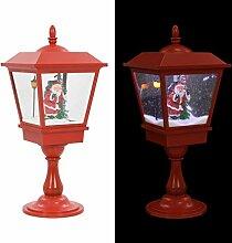 vidaXL Weihnachten Stehleuchte mit Weihnachtsmann