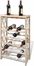 vidaXL Weinregal Flaschenregal Flaschenständer