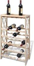 vidaXL Weinregal vidaXL Weinregal für 25 Flaschen