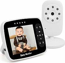 Video-Babyphone, 3,5-Zoll-Babyphone mit schlankem