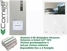 Video-Sprechanlagen KIT 1-Fam-Haus 8461V2-Draht,