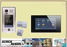 Video Türsprechanlage Türklingel DT601S/ID & T47M Videospeicher Monitor kapazitiver Touch 1 Sprechanlagen Monitor schwarz