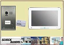 """Video Türsprechanlage Türklingel DT603DF1 Unterputz & DT31M 10 """"Videospeicher Monitor kapazitiver Touch 1 Sprechanlagen Monitor"""