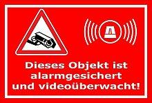 Video-Überwachung Aufkleber - Objekt