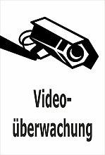 Video-Überwachung Aufkleber - Videoüberwachung -