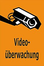 Video-Überwachung Schild - Videoüberwachung -