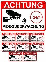 Videoüberwachung Schild 30x20cm Hinweisschild
