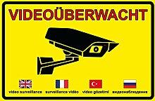 Videoüberwachung | Videoüberwacht | Achtung
