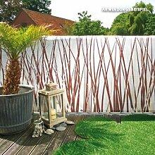 Videx-Balkon-Bespannung Style, braun/beige, 90 x 300cm