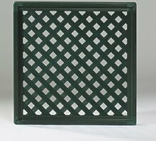 Videx-Kunststoffzaun Oxford Diamant, 65 x 125cm, grün