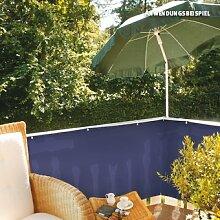 Videx-PE-Balkon-Bespannung Classic, blau, 90 x