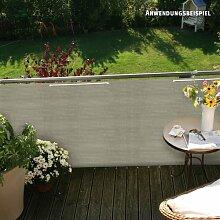 Videx PE-Balkonbespannung Classik, beige-grau, 90