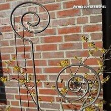 Videx-Pflanz- und Zierstab Spirale, Roheisen,