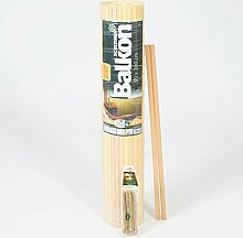 Videx-Sichtschutzmatte Rügen, Kunststoff bambus,