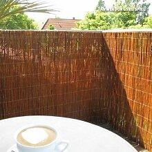 Videx-Sichtschutzmatte Weide, hell Champagne, 200 x 300cm